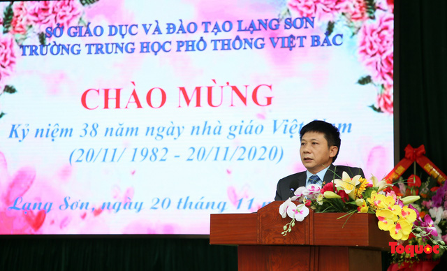 Bưu điện PTI trao tặng phòng học máy tính cho Trường THPT Việt Bắc - Ảnh 4.