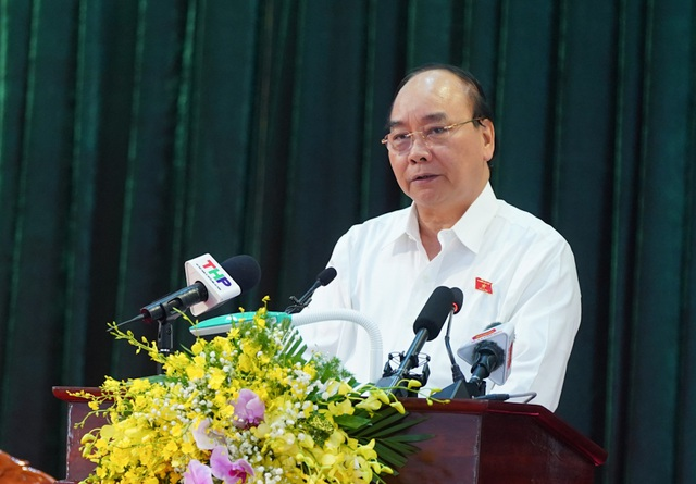 Thủ tướng tiếp xúc cử tri Hải Phòng: Chính phủ quan tâm nâng cao mức sống người dân - Ảnh 1.