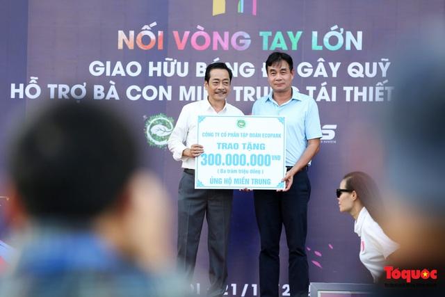 Dàn sao đình đám của bóng đá và showbiz Việt góp mặt ở giải đấu từ thiện vì miền Trung - Ảnh 3.