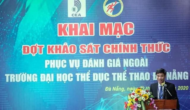 Khảo sát đánh giá chất lượng trường Đại học Thể dục Thể thao Đà Nẵng - Ảnh 1.