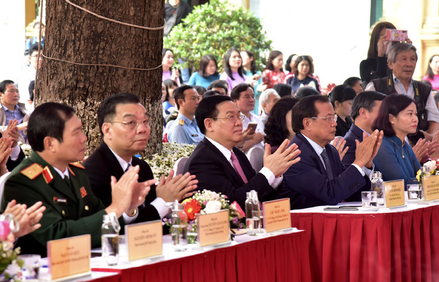Kỷ niệm 10 năm Hoàng thành Thăng Long được UNESCO ghi danh: Góp phần tạo nên một diện mạo văn hóa đáng tự hào của Hà Nội - Ảnh 1.