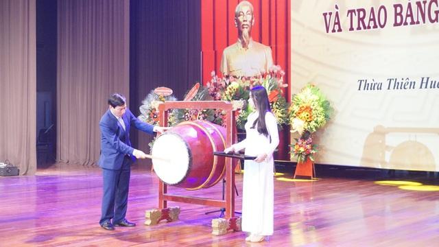 Bộ trưởng Nguyễn Ngọc Thiện dự lễ khai giảng Học viện Âm nhạc Huế - Ảnh 3.