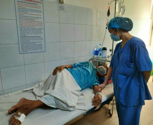 Số ca mắc bệnh Whitmore nhập viện Bệnh viện Đà Nẵng tăng mạnh  - Ảnh 1.