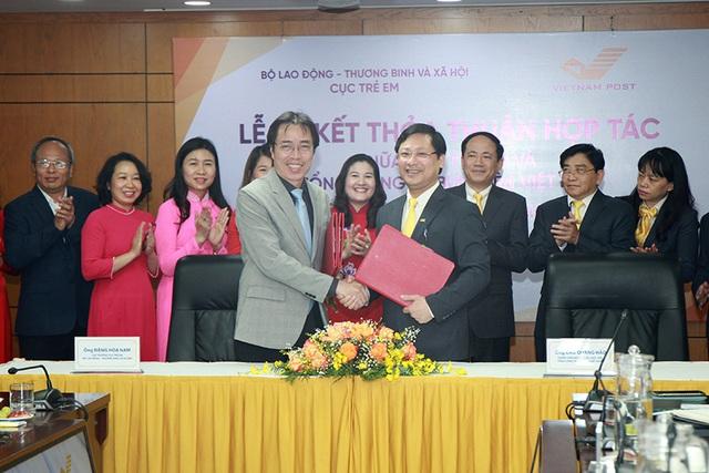 Vietnam Post chung tay bảo vệ trẻ em  - Ảnh 1.