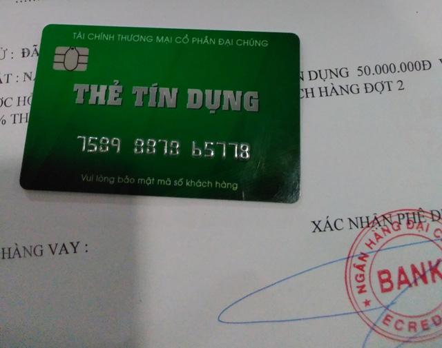 PVcomBank cảnh báo thủ đoạn lừa đảo mở thẻ tín dụng giả - Ảnh 1.