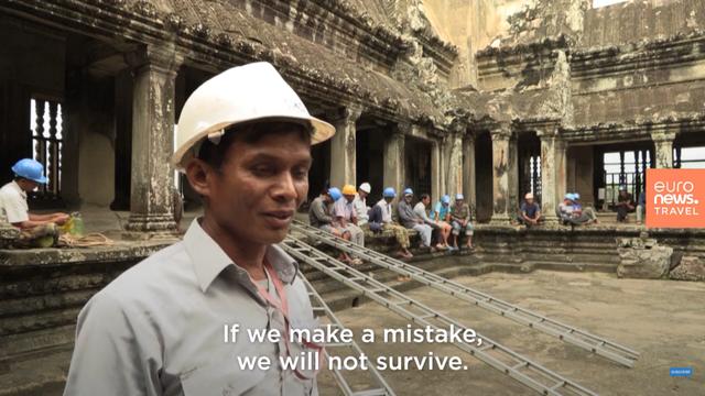 """Những """"người nhện"""" mạo hiểm tính mạng vì Angkor Wat - Ảnh 3."""