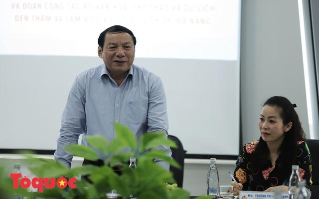 Thứ trưởng Nguyễn Văn Hùng gợi mở cho ngành Du lịch Đà Nẵng phát triển - Ảnh 4.