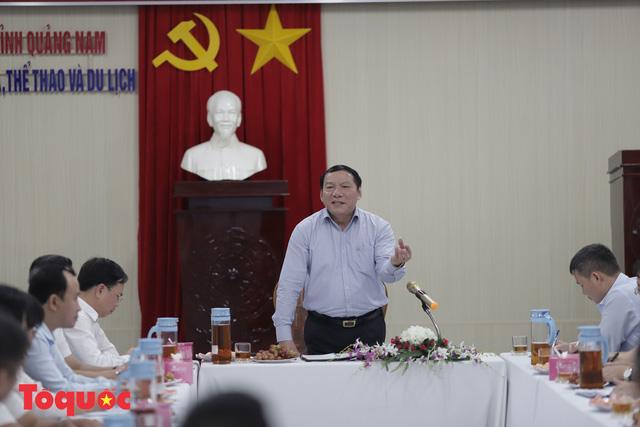 Quảng Nam cần chú trọng phát triển du lịch bền vững, bảo vệ tài nguyên, môi trường và di sản - Ảnh 2.