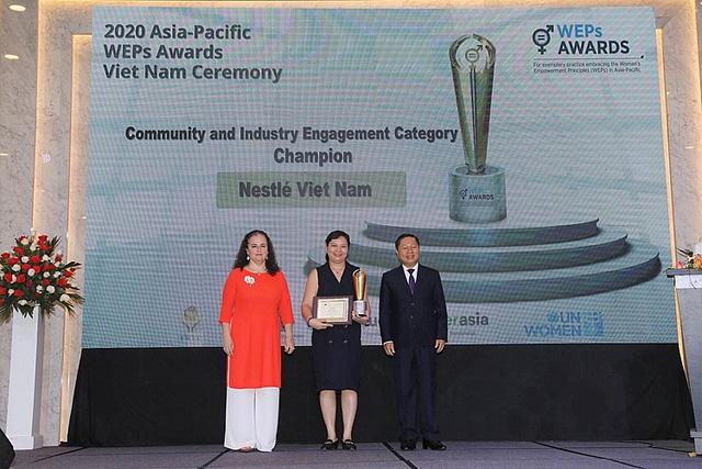 Nestlé Việt Nam vinh dự nhận 2 giải thưởng danh giá về trao quyền cho phụ nữ - Ảnh 1.