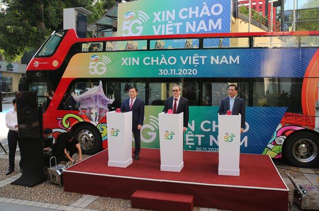 Hà Nội: Người dân tại 3 quận trung tâm đã có thể trải nghiệm dịch vụ 5G - Ảnh 1.