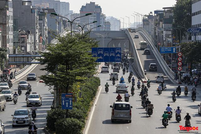 Chính thức thông xe Đường Vành đai 2 trên cao, đoạn Ngã Tư Sở - Ngã Tư Vọng - Ảnh 11.