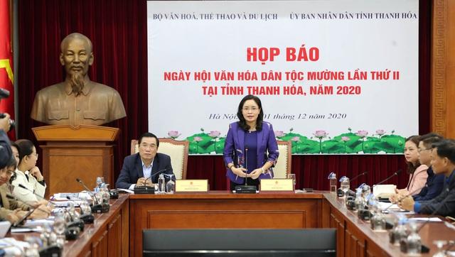 6 tỉnh, thành tham gia Ngày hội Văn hóa dân tộc Mường tại Thanh Hóa - Ảnh 1.