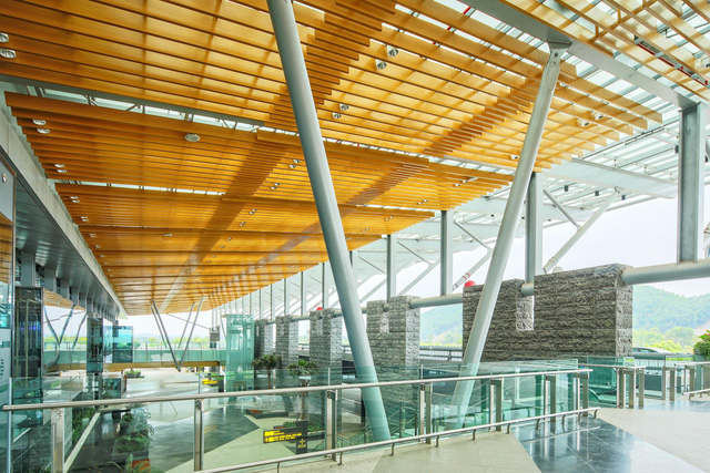 Điều ít biết về kiến trúc độc đáo của Sân bay khu vực hàng đầu thế giới 2020 (Kính nhờ chị hỗ trợ cho đăng giúp em vị trí Bài ảnh và Title xuất hiện trang chủ với ạ!) - Ảnh 10.