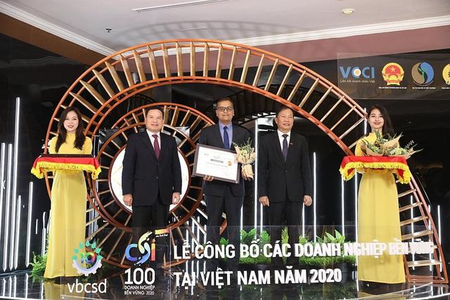 Nestlé Việt Nam được vinh danh Top 03 doanh nghiệp bền vững năm 2020   - Ảnh 1.