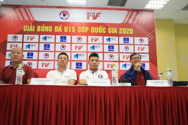 HLV 70 tuổi tái xuất sân cỏ ở VCK U15 Cup Quốc gia, tám đội tham dự quyết tâm đạt mục tiêu cao nhất - Ảnh 1.
