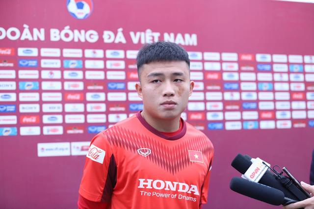 """Đàn em Phan Văn Đức: """"Hữu Thắng là người cầm nhịp lối chơi của U22 Việt Nam"""" - Ảnh 1."""