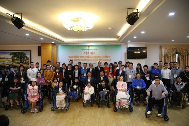 64 đại biểu người khuyết tật tham dự chương trình Tỏa sáng nghị lực Việt - Ảnh 2.