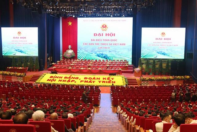 Họp phiên trù bị Đại hội Đại biểu toàn quốc các dân tộc thiểu số Việt Nam lần thứ II  - Ảnh 2.