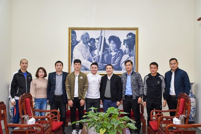 Nguyễn Quang Hải, Trần Đình Trọng hoàn thiện thủ tục nhập học chính thức tại Trường Đại học TDTT Bắc Ninh - Ảnh 2.
