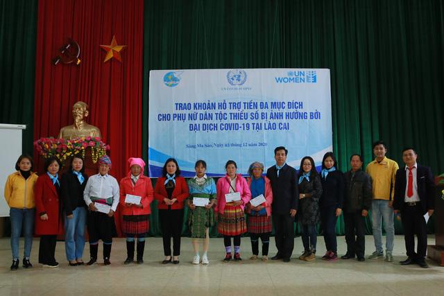 UN Women hỗ trợ 600 hộ nghèo và phụ nữ dân tộc thiểu số tại Lào Cai - Ảnh 1.