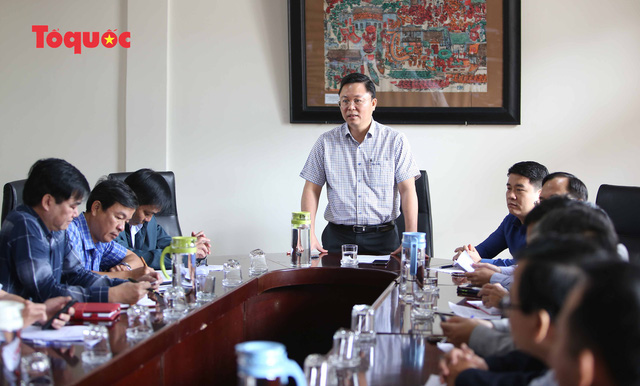 Sáng 22/2, ông Lê Trí Thanh, Chủ tịch UBND tỉnh Quảng Nam cùng đại diện các ngành chức năng đã có buổi làm việc với các cơ quan chức năng TP Hội An.