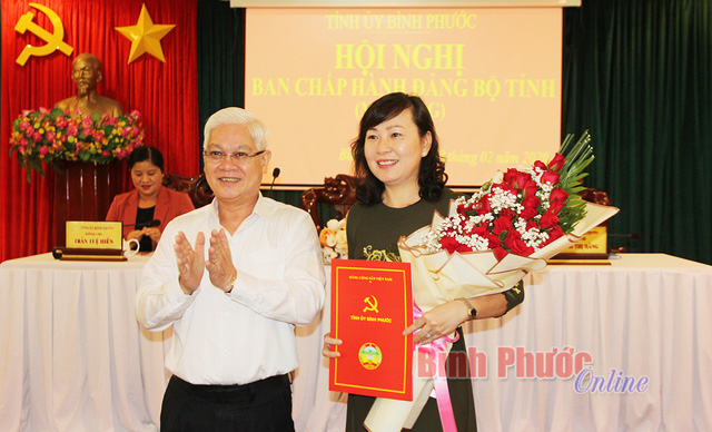 Nhân sự mới tại Bộ Tài chính, tỉnh Bình Phước - Ảnh 2.