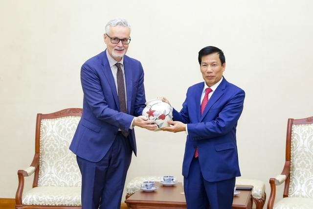 Bộ trưởng Nguyễn Ngọc Thiện: Hợp tác văn hóa, thể thao, du lịch Việt Nam- Đức đã đạt nhiều thành tựu quan trọng - Ảnh 2.