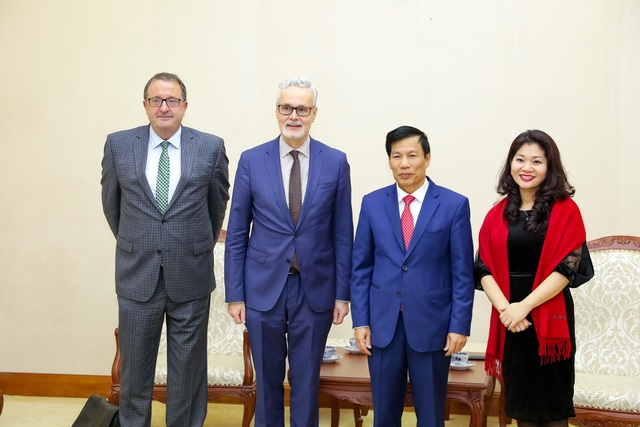 Bộ trưởng Nguyễn Ngọc Thiện: Hợp tác văn hóa, thể thao, du lịch Việt Nam- Đức đã đạt nhiều thành tựu quan trọng - Ảnh 3.