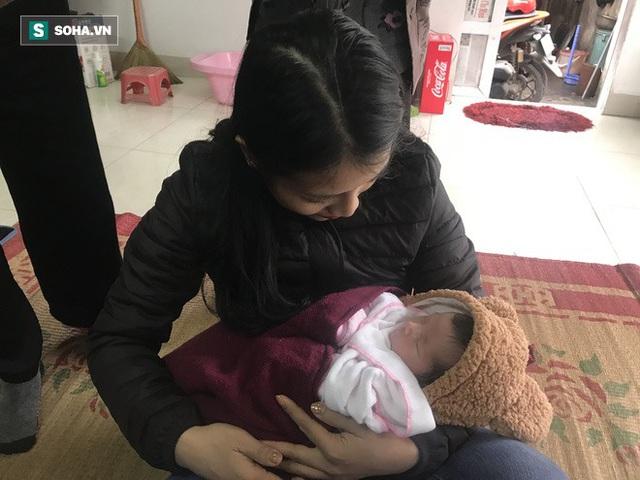 Rơi nước mắt hoàn cảnh thương tâm ở Hà Nội: Bố mất vì điện giật, bé gái chào đời khi mẹ băng huyết tử vong sáng 30 Tết - Ảnh 4.