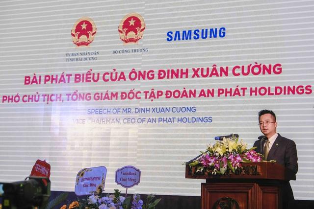 """Phó Chủ tịch, CEO An Phát Holdings: """"Câu chuyện Việt Nam không làm được bu - lông, ốc vít đã trở thành dĩ vãng với ngành công nghiệp hỗ trợ Việt Nam""""  - Ảnh 1."""