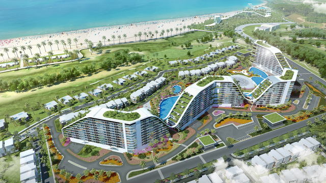 Khách sạn xanh The Coastal Hill hé lộ những hình ảnh hoàn thiện mới nhất - Ảnh 3.
