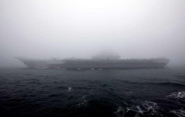 Đài Loan cảnh giác đội tàu sân bay Trung Quốc tập trận sát sườn - Ảnh 1.