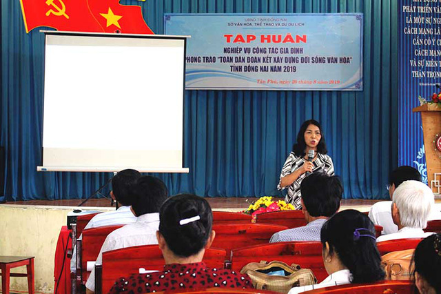 Đồng Nai ban hành kế hoạch tập huấn nghiệp vụ công tác gia đình năm 2020 - Ảnh 1.