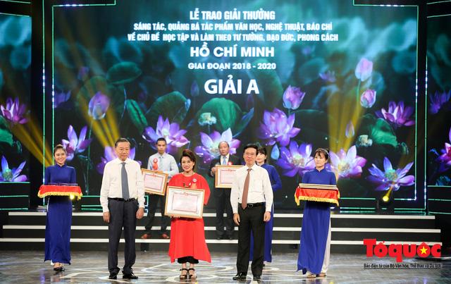 """Lễ trao giải sáng tác chủ đề """"Học tập và làm theo tư tưởng, đạo đức, phong cách Hồ Chí Minh"""" - Ảnh 6."""