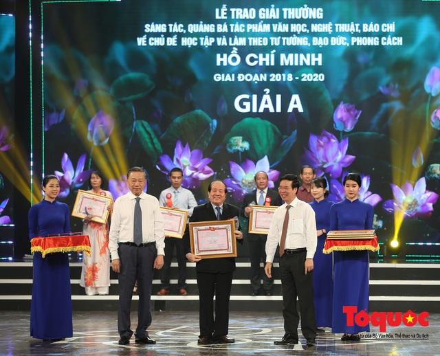 """Lễ trao giải sáng tác chủ đề """"Học tập và làm theo tư tưởng, đạo đức, phong cách Hồ Chí Minh"""" - Ảnh 5."""