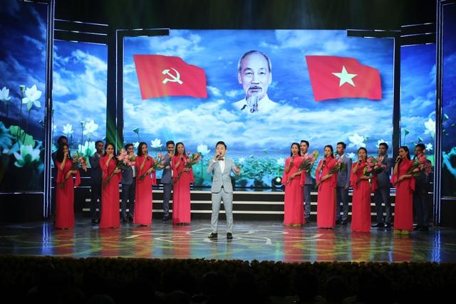 """Lễ trao giải sáng tác chủ đề """"Học tập và làm theo tư tưởng, đạo đức, phong cách Hồ Chí Minh"""" - Ảnh 1."""