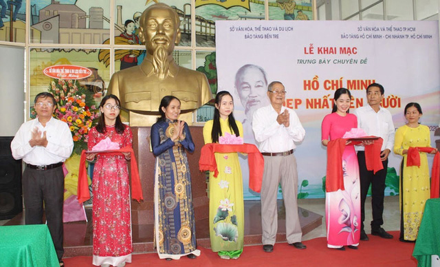 Bến Tre tổ chức nhiều hoạt động kỷ niệm Ngày sinh Chủ tịch Hồ Chí Minh - Ảnh 1.