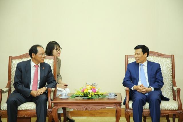 Bộ trưởng Nguyễn Ngọc Thiện: Việt Nam- Hàn Quốc tái khởi động mạnh mẽ các chương trình hợp tác văn hóa, thể thao và du lịch sau dịch Covid-19 - Ảnh 1.