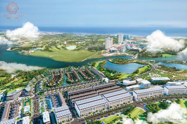 Đất Xanh Miền Trung tổ chức lễ cất nóc villa Anh Quốc dự án One World Regency - Ảnh 2.