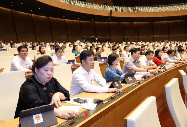 Quốc hội thông qua Nghị quyết về cơ chế tài chính - ngân sách đặc thù đối với Hà Nội - Ảnh 1.