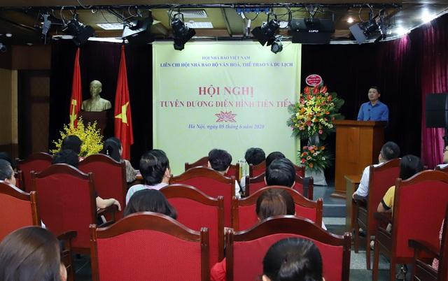 Liên Chi hội Nhà báo Bộ VHTTDL tổ chức Hội nghị tuyên dương điển hình tiên tiến - Ảnh 1.