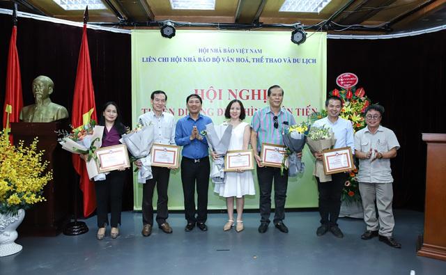 Liên Chi hội Nhà báo Bộ VHTTDL tổ chức Hội nghị tuyên dương điển hình tiên tiến - Ảnh 3.
