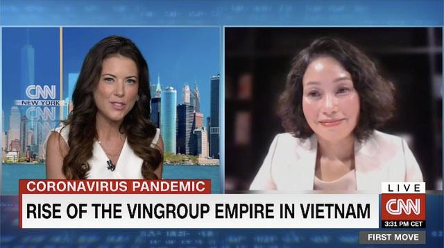 11 phút trực tiếp trong chương trình hàng đầu kinh tế trên CNN, Vingroup đã gây ấn tượng gì với thế giới? - Ảnh 1.