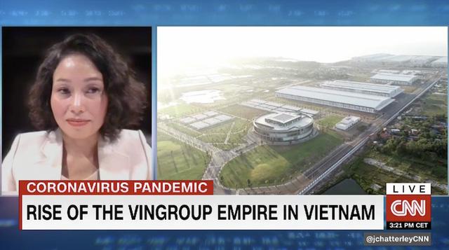 11 phút trực tiếp trong chương trình hàng đầu kinh tế trên CNN, Vingroup đã gây ấn tượng gì với thế giới? - Ảnh 2.