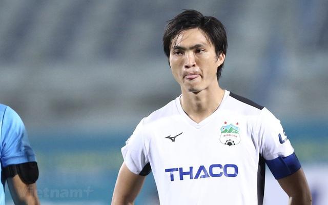 Ghi bàn thắng vào lưới Quảng Nam, Tuấn ANh vẫn cho rằng bản thân vẫn còn kém - Ảnh 1.