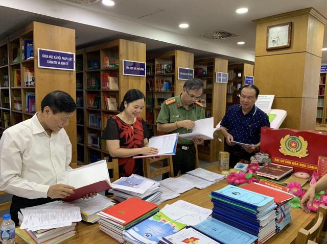 Nhiều hoạt động tại Ngày hội sách và phát động phong trào đọc sách trong Công an nhân dân - Ảnh 1.