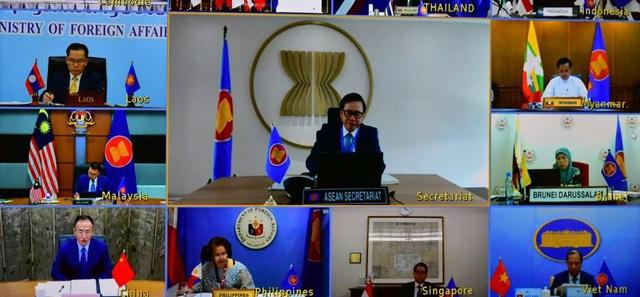 Bộ Ngoại giao thông tin về trao đổi ASEAN - Trung Quốc về vấn đề Biển Đông - Ảnh 1.