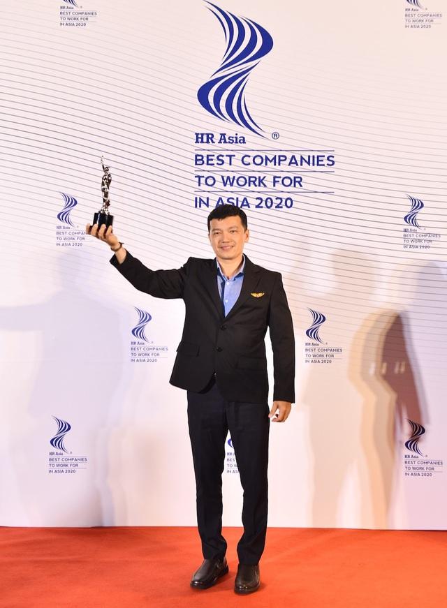 """Vietjet tiếp tục đoạt giải thưởng """"Nơi làm việc Tốt nhất châu Á"""" - Ảnh 2."""