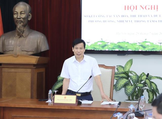 """Bộ trưởng Nguyễn Ngọc Thiện: """"Cần có tư duy mới trong bối cảnh dịch bệnh hiện nay"""" - Ảnh 2."""