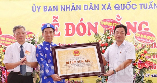 Mộ và nhà thờ 3 tiến sĩ họ Trần được xếp hạng di tích quốc gia - Ảnh 1.